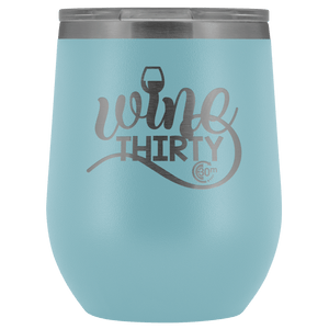 Wine Thirty 12oz Wine Tumbler with Lid - Coach Rock