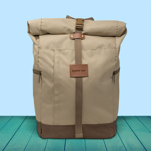 The El Dorado™ Roll Top Pack (Tan)