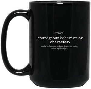 Personalized Brave T-Shirt & Mug