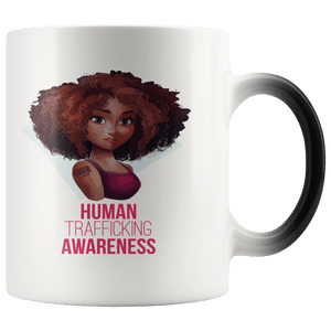 Human Trafficking Awareness Girl Magic Mug 11oz - Coach Rock