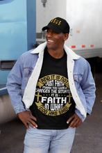 Load image into Gallery viewer, And It Is Not Just Faith T-Shirt - Coach Rock