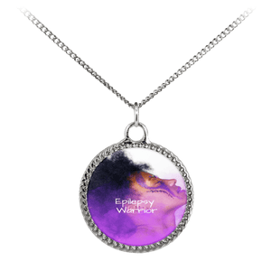 Epilepsy Warrior Deco Necklace - Coach Rock