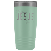 Load image into Gallery viewer, Follow Jesus 20 oz Tumbler - Coach Rock