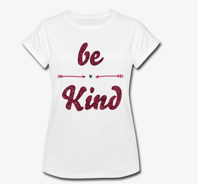 Be Kind Women's Relaxed Fit T-Shirt - Coach Rock
