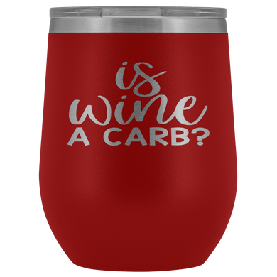 Is Wine a Carb? Stemless Wine Tumbler - Coach Rock