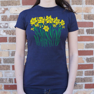 Daffodils T-Shirt (Ladies) - Coach Rock