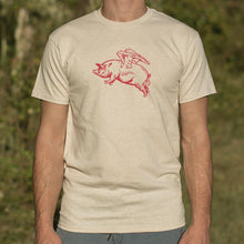 Load image into Gallery viewer, Flying Pig T-Shirt (Mens) - Coach Rock