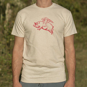 Flying Pig T-Shirt (Mens) - Coach Rock