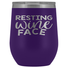 Load image into Gallery viewer, Resting Wine Face Stemless Wine Tumblers - Coach Rock