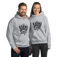 Load image into Gallery viewer, Keep Karma and Carry On Hooded Sweatshirt - Coach Rock
