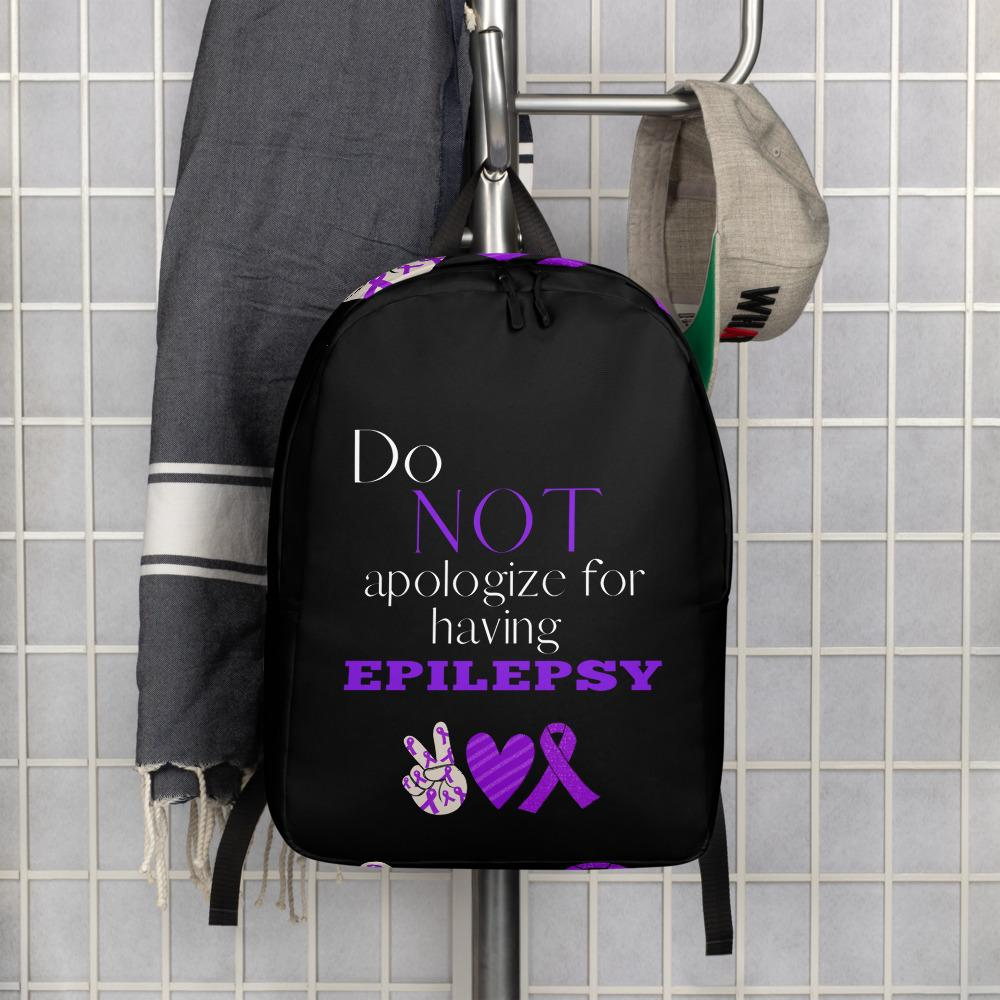 Do Not Apologize for Having Epilepsy Backpack - Coach Rock
