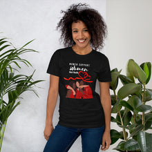 Load image into Gallery viewer, Women Support Women Heart Disease Awareness T-shrit - Coach Rock
