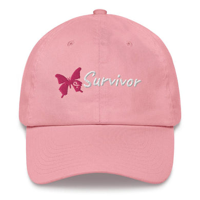 Breast Cancer Survivor Hat - Coach Rock