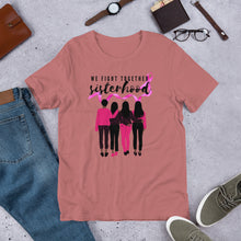 Load image into Gallery viewer, Sisterhood Breast Cancer Awareness T-Shirt - Coach Rock