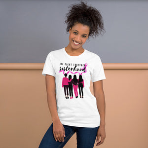 Sisterhood Breast Cancer Awareness T-Shirt - Coach Rock