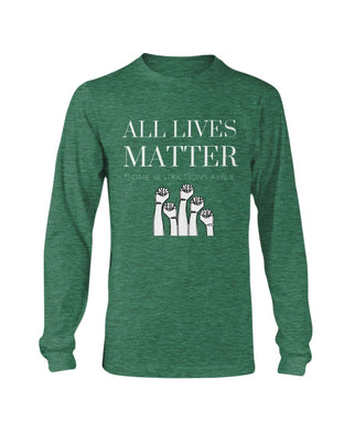 All Lives Matter Long Sleeve - Coach Rock