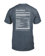 Load image into Gallery viewer, Melanin Black Nutrition Unisex T-Shirt - Coach Rock