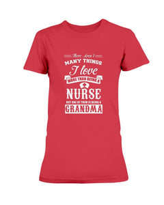 Nurse and Grandma T-Shirt (Ladies) - Coach Rock