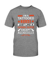 Load image into Gallery viewer, Tattooed Nurse T-Shirt (Men & Ladies) - Coach Rock