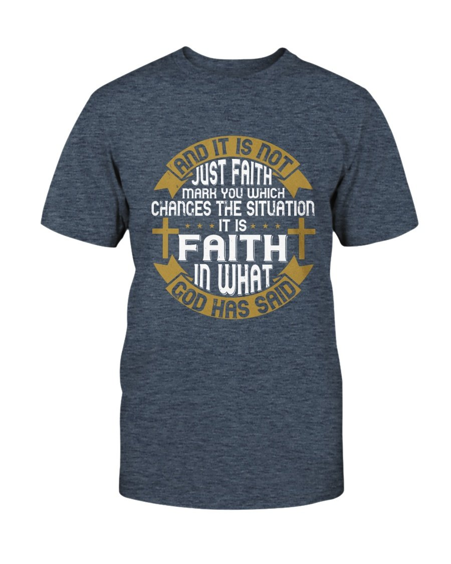 And It Is Not Just Faith T-Shirt - Coach Rock