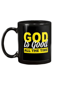 God is Good All The Time Mug - Coach Rock