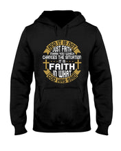 Load image into Gallery viewer, And It Is Not Just Faith Hoodie - Coach Rock