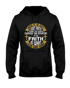 And It Is Not Just Faith Hoodie - Coach Rock