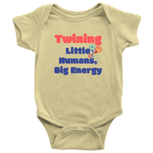 Load image into Gallery viewer, Twining Baby Onesie - Coach Rock