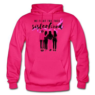 Sisterhood Breast Cancer Awareness Hoodie (Unisex) - Coach Rock