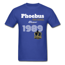 Load image into Gallery viewer, 1989 PHS Phantoms Alumni (UNISEX) Tagless T-Shirt - Coach Rock