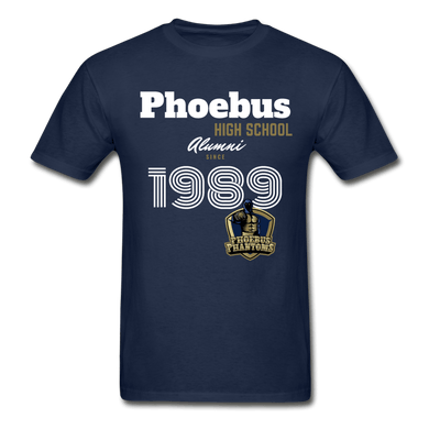 1989 PHS Phantoms Alumni (UNISEX) Tagless T-Shirt - Coach Rock