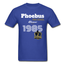 Load image into Gallery viewer, 1985 PHS Phantoms Alumni (UNISEX) Tagless T-Shirt - Coach Rock