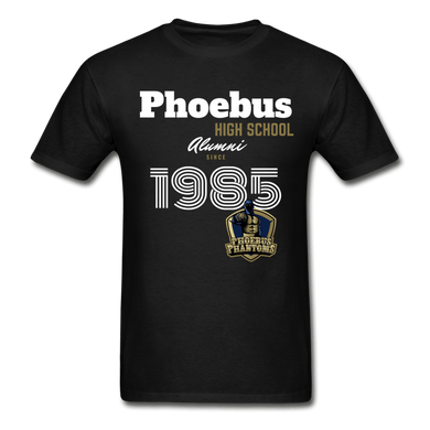 1985 PHS Phantoms Alumni (UNISEX) Tagless T-Shirt - Coach Rock