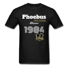 Load image into Gallery viewer, 1984 PHS Phantoms Alumni (UNISEX) Tagless T-Shirt - Coach Rock