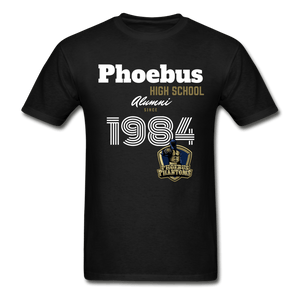 1984 PHS Phantoms Alumni (UNISEX) Tagless T-Shirt - Coach Rock