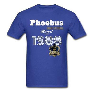 1988 PHS Phantoms Alumni (UNISEX) Tagless T-Shirt - Coach Rock