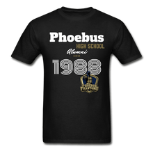 Load image into Gallery viewer, 1988 PHS Phantoms Alumni (UNISEX) Tagless T-Shirt - Coach Rock