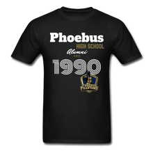 Load image into Gallery viewer, 1991 PHS Phantoms Alumni (UNISEX) Tagless T-Shirt - Coach Rock
