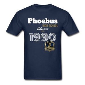 1991 PHS Phantoms Alumni (UNISEX) Tagless T-Shirt - Coach Rock