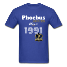 Load image into Gallery viewer, 1991 PHS Phantoms Alumni (UNISEX) T-Shirt - Coach Rock