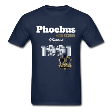 1991 PHS Phantoms Alumni (UNISEX) T-Shirt - Coach Rock