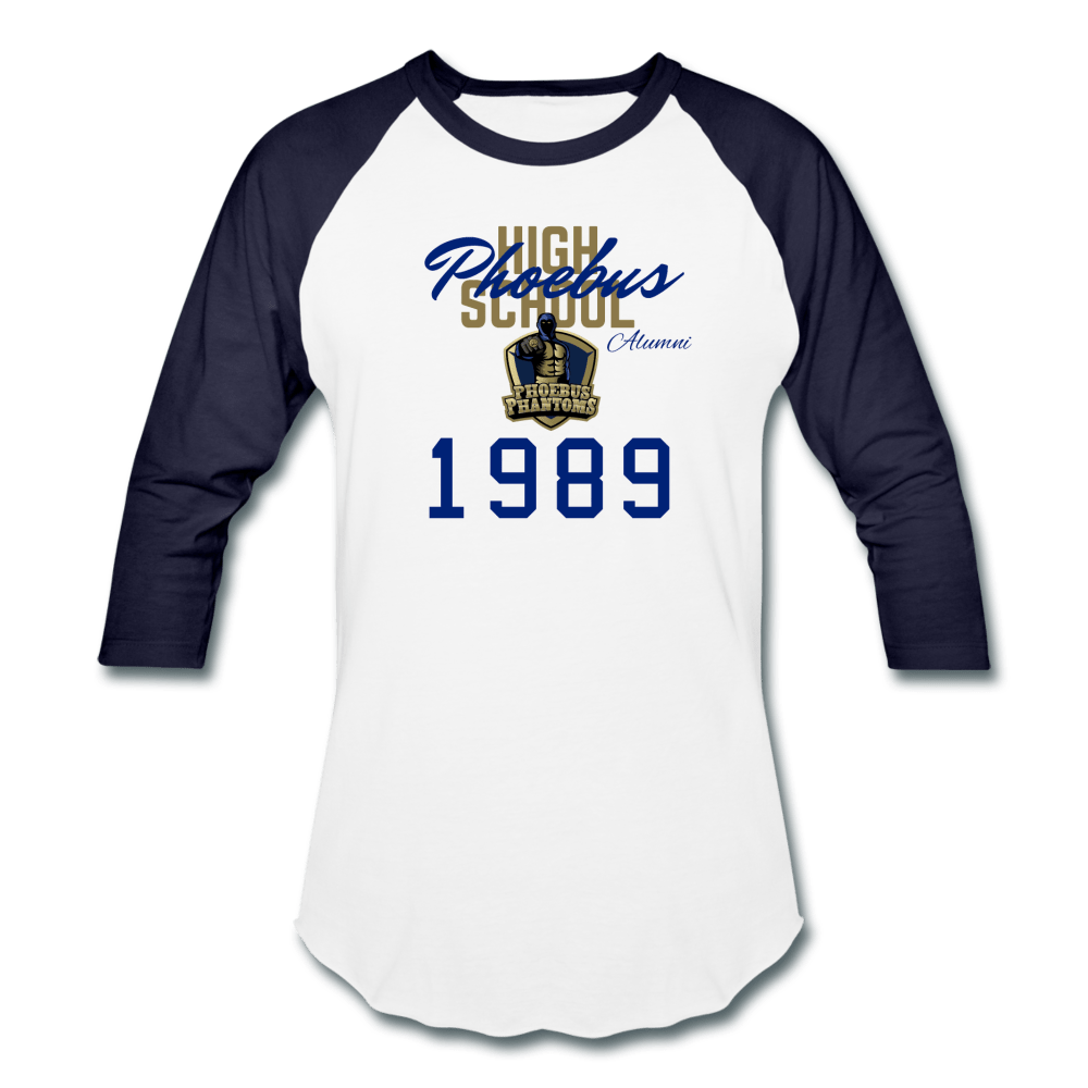 1989 PHS Phantoms Alumni Retro (UNISEX) - Coach Rock