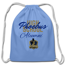 Load image into Gallery viewer, PHS Phantoms Alumni Cotton Drawstring Bag - Coach Rock