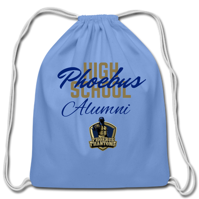 PHS Phantoms Alumni Cotton Drawstring Bag - Coach Rock