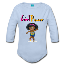 Load image into Gallery viewer, Girl Power Long Sleeve Baby Bodysuit - Coach Rock