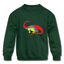Load image into Gallery viewer, Boys Dinosaur Crewneck Sweatshirt - Coach Rock