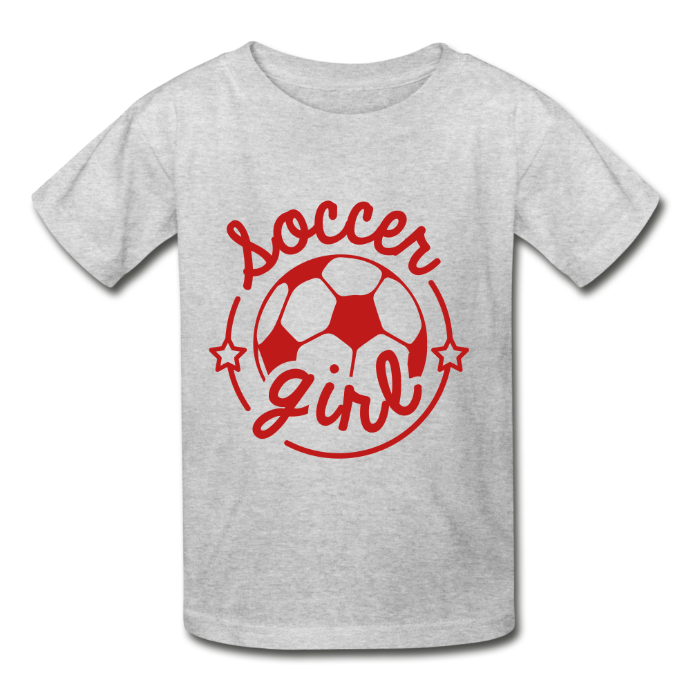 Soccer Girl Youth Tagless T-Shirt - Coach Rock