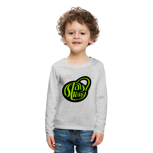 Stay Strong Kids' Premium Long Sleeve T-Shirt - Coach Rock