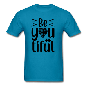 BeYOUtiful Autism Awareness Unisex T-Shirt - Coach Rock