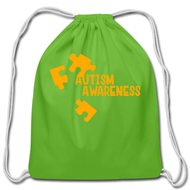 Autism Awareness Cotton Drawstring Bag - Coach Rock